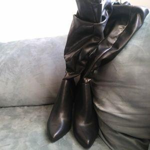 Christian Siriano pointy boots